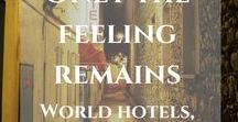 World Hotels & Accommodations / Where to stay? Hotels, hostels, other accommodations in the World