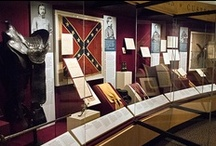 Treasures of the Civil War / The Gettysburg National Military Park Visitors Center and Museum offers the new exhibit Treasures of the Civil War: Legendary Leaders Who Shaped a War and a Nation. Most of the nearly one hundred artifacts, from outstanding Civil War collections throughout the United States, are being exhibited at Gettysburg for the first time, offering a unique and rare glimpse into the personal and professional lives of 13 individuals who helped shape a nation. http://www.gettysburgfoundation.org/137 / by Gettysburg National Military Park Museum & Visitor Center