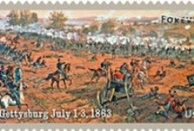 Gettysburg Stamp / Two of the most important events of the Civil War were memorialized on Forever Stamps on May 23, 2013 at the sites where these conflicts took place — Gettysburg, PA, and Vicksburg, MS. / by Gettysburg National Military Park Museum & Visitor Center