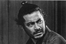 Inspiring people / Famous people who have inspired my life...  #Samurai #Mifune #Toshiro #Tatsuya #Nakadai #Katana