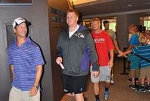 Ravens Visit Gettysburg / Baltimore Ravens Head Coach John Harbaugh surprised his team with a morning meeting announcement that they were going on a field trip to the historic Civil War town of Gettysburg, Pa. / by Gettysburg National Military Park Museum & Visitor Center
