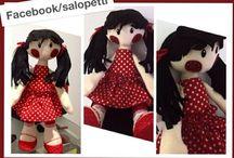rag dolls / by Isabella Lagame