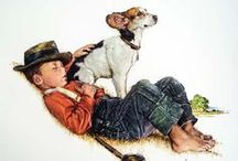 Rockin' Norm / Art, prints, anything Norman Rockwell