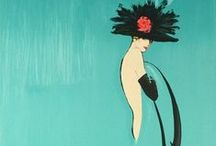 Art of ~ René Gruau / Fashion prints
