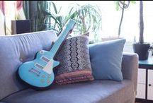 PinjaPuu interior / Handmade Finnish ecodesign. Custom guitars, lions and lots of other handicrafted coolness.