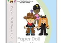 Paper Doll Dress Up Cartridge