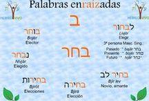 Palabras Enraizadas en Hebreo moderno - Ronda nº 2 / El hebreo es un idioma en el que las raíces verbales tiene un papel principal: sirven de potente enlace entre verbos, adjetivos, sustantivos, términos compuestos y más. Enriquece tu vocabulario con nuestras Palabras Enraizadas. www.clasesdehebreo.com