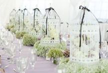 WEDDING - CENTRE PIECES / Simple or elaborate - just beautiful!