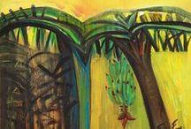 Flora Fong / Flora Fong García. Artista de la plástica contemporánea destacada en Cuba, por la forma de llevar al lienzo o la cartulina paisajes autóctonos, en los cuales sobresale la sensualidad tropical y la tenacidad asiática. / Flora Fong Garcia. Outstanding artist of the contemporary art in Cuba, the way to bring the canvas or cardboard native landscapes, in which stands the Asian tropical sensuality and toughness.