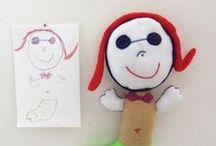 Bambini creativi / #bambini #creativi #creatività #piccoli #disegni #figlio #disegnare #matita #tempera #acquerello