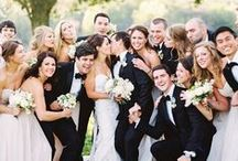 """Wedding Party / Standing by your side when you say, """"I do"""""""