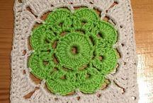 Cuadros a crochet y otros motivos