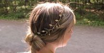 The Bee's Knees Collection by Happily Ever Headwear / Whimsical with a feel for the enchanted forest, these bridal head pieces are inspired by the fairy tales of our youth