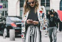 ✘ Fashion Week / Fashion Week street style inspiration board.