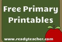 Primary Printable Activities