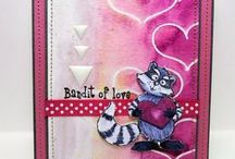 Great Impressions: Love/Valentines / Creations made using Great Impressions Rubber Stamps with a love or Valentine theme!