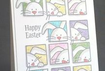 Great Impressions: Spring/Easter / Creations made using Great Impressions Rubber Stamps with a spring and/or Easter theme!