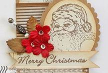 Great Impressions: Holiday / Creations made using Great Impressions Rubber Stamps with a holiday theme!