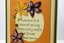 Great Impressions: Autumn / Creations made using Great Impressions Rubber Stamps with an autumnal theme!