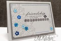 Great Impressions: Friends / Friendship themed creations made with Great Impressions stamps!