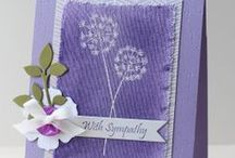 Great Impressions: Sympathy / Sympathy cards and creations made using Great Impressions stamps.