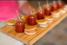 Yummy Bites / Delicious food and eye catching food presentations for all kinds of events.  #Catering #Food