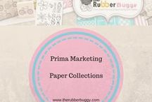 Prima Marketing - Paper Collections / Prima Marketing - Check out all the Prima Paper Collections and ideas on using them.