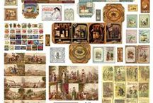 Dollhouse print outs / Shabby chic and victorian