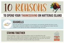 Fall on Hatteras Island / Anything and everything fall and autumn on Hatteras Island and OBX - a beautiful time of year on the Outer Banks!