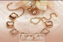 Bridal Sets / I do, I do, I do ooo!  Beautiful bridal sets - featuring gems for you and your bridesmaids or just the bride on her special day!