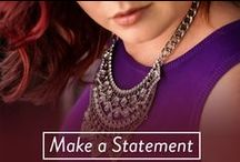 Statement Jewelry / Looking to make a statement? Look no further! Our Make a Statement jewelry collection is filled with large and bold statement necklaces and wow-worthy drop and statement earrings.