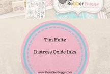 Tim Holtz - Distress Oxide Inks / See what you can do with the new Tim Holtz Distress Oxide Inks