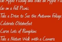Fall&Halloween..