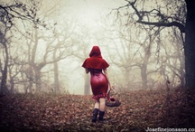 Red Riding Hoods / Because there's something about that girl wearing that hood / by Horstman Maassen / Wicked Sheila
