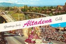 Altadena / Altadena is an unincorporated area of Los Angeles County, approximately 14 miles (23 km) from the downtown Los Angeles, and directly north of the city of Pasadena, California.  Residents are zoned to Pasadena Unified School District schools   Point of interest: Christmas Tree Lane,  a stretch of Santa Rosa Avenue from Woodbury Road to Altadena Drive. It is the oldest large-scale outdoor Christmas lighting venue in the world.  / by Susan and Brad Mohr - Partners Trust