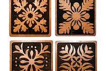 Kuiki Lau / Hawaiian quilting / by Joy Pomaika'i Hau'oli OHearn