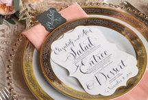 Wedding Stationery | Place Settings