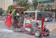 HOFMANN Road Marking Machines - Strassenmarkiermaschinen / Road Marking Machines - Straßenmarkiermaschinen - Máquinas pintabandas - Machines de marquage routier