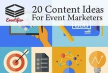 Marketing Your Event / Meetings and Event Industry Marketing Tips and Ideas.