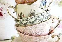 Time for Tea / My family's British, so we really enjoy a good pot of tea! Here's a collection of beautiful tea cups, tea pots, tea party ideas, tea time art, quotes, information, and inspiration....