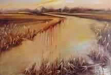 Silvia Scuderi / Landscapes, oil on canvas