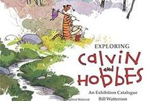 """❤️ Calvin & Hobbes ❤️ / A collection of all things Calvin and Hobbes, including the original comic strips by Bill Watterson, which ran in newspaper syndication from 1985-1995, along with books, articles and blog posts about the artist and his beloved characters, and some clever """"inspired by"""" or """"in the style of"""" tributes, parodies, and fan art."""