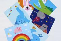 Annimi - Papierdinge / Postkarten, Notizbücher, Postkarten, Büchlein & Co. – die Viecher sind auch auf Papier unterwegs! :-) Gedruckt auf Recyclingpapier und mit Pflanzenfarben.