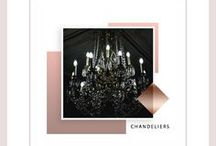Chandelier Obsessions / chandelier diy, chandelier ideas, chandelier makeover, chandelier bedroom