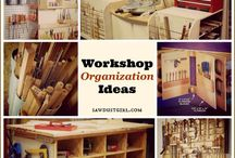 Workshop Tips, Tools, & Woodworking / Workshop and woodworking tools & supplies organization, and general workshop ideas
