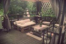 outdoor furniture / Piha, teranssi tai parvekken sisustus