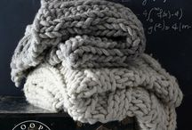 Knitwit Inspiration Throws and Blankets / Knitting and crocheting XXL breien en haken XXL