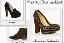 Fashion - Monthly Shoe Wishlist / Monthly shoe wishlists from a girl who loves shoes. #Shoes #Wishlist