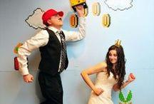 Inspiration jeu d'enfance / Inspiration jeu d'enfance: Board d'inspiration sur le thème de l'enfance, pour un mariage sous le signe du souvenir.