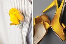 inspiration yellow / Inspiration de décoration et thématique d'organisation de mariage autour de la couleur jaune - wedding planner